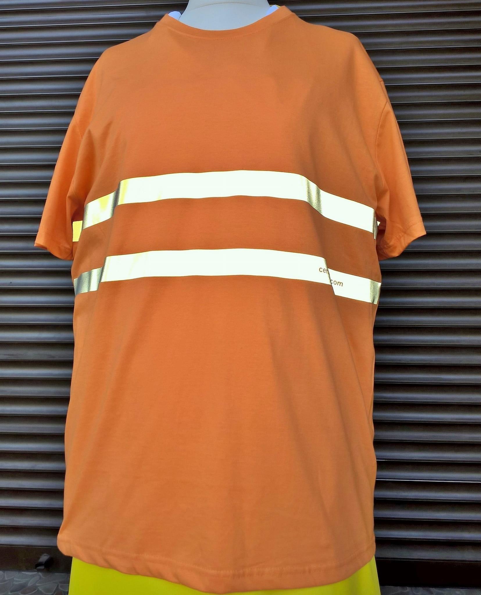 590e82a20b0d31 T-shirt męski- odblaskowy - bawełna 100 % gramatura 185g/m2!, CERTUS ...